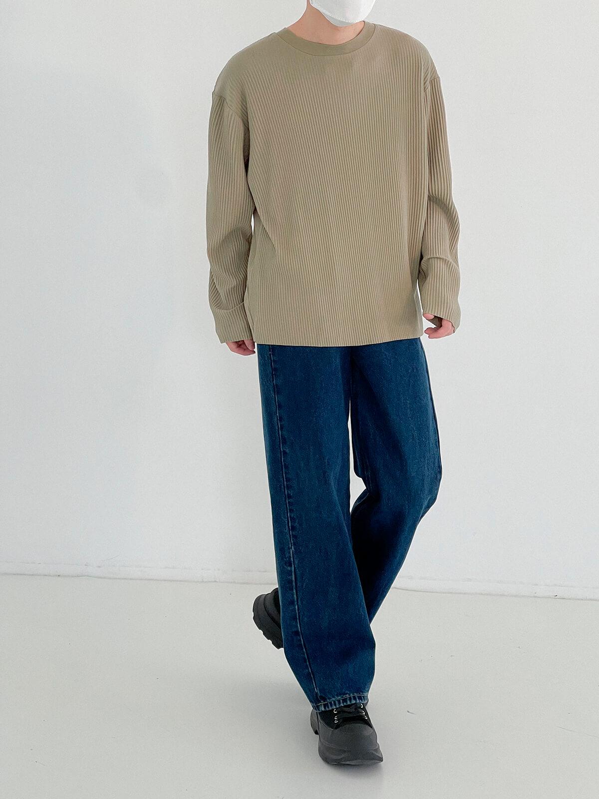 Лонгслив DAZO Studio Pleated Basic Long Sleeve (15)