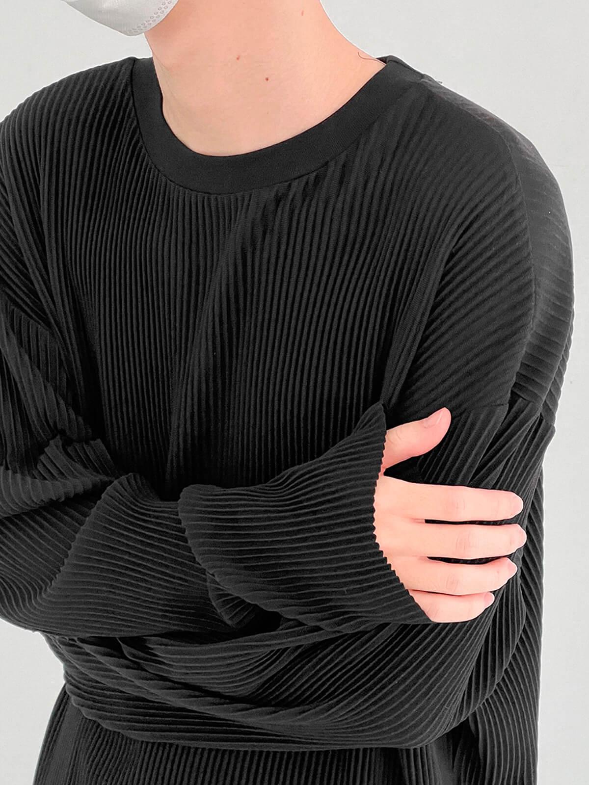 Лонгслив DAZO Studio Pleated Basic Long Sleeve (17)
