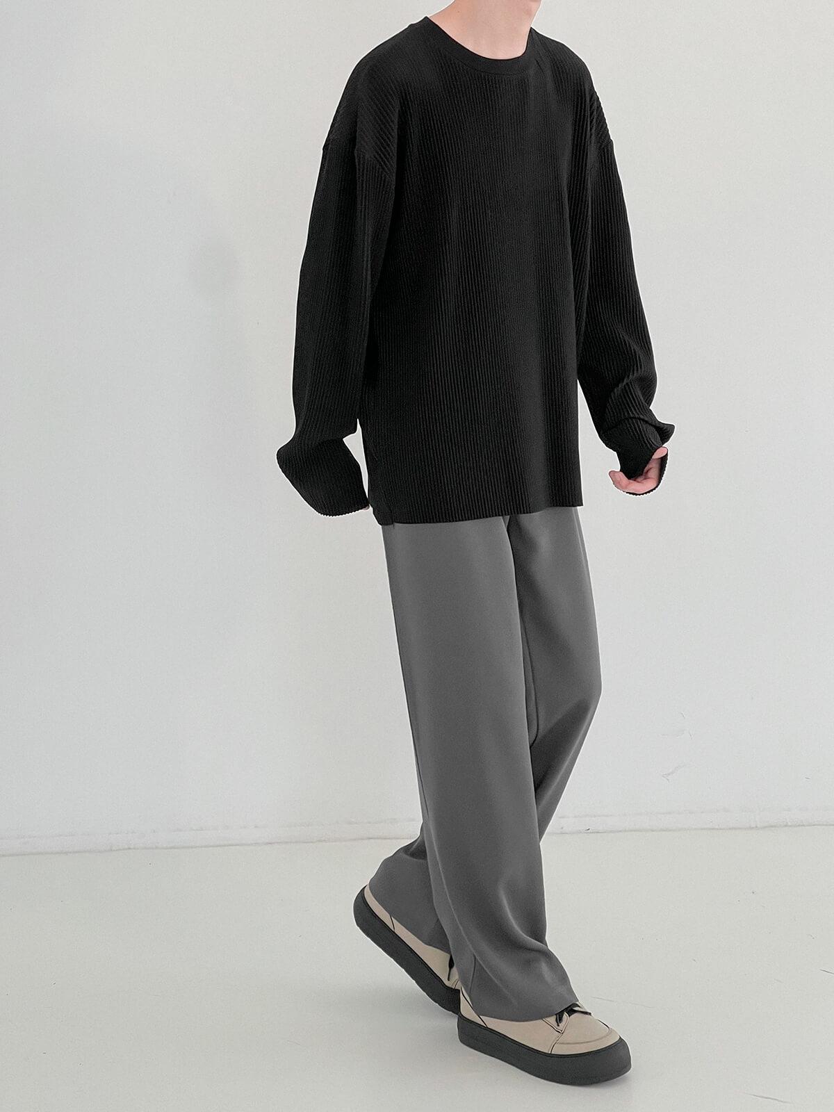 Лонгслив DAZO Studio Pleated Basic Long Sleeve (19)