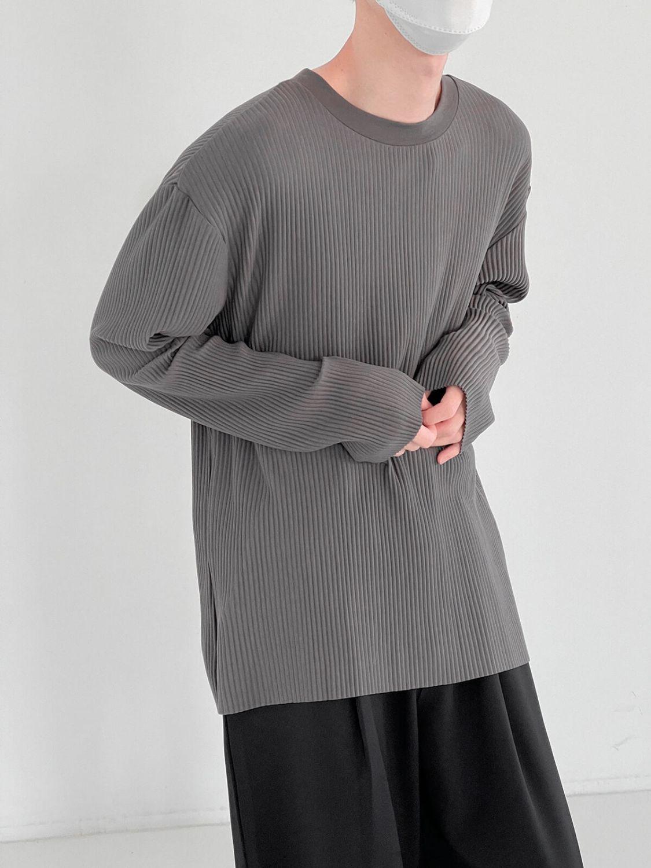 Лонгслив DAZO Studio Pleated Basic Long Sleeve (2)
