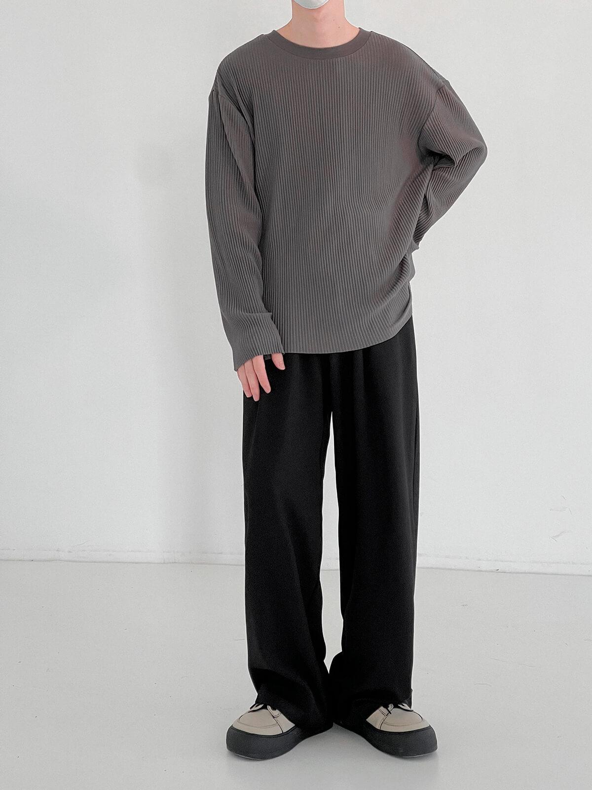 Лонгслив DAZO Studio Pleated Basic Long Sleeve (5)
