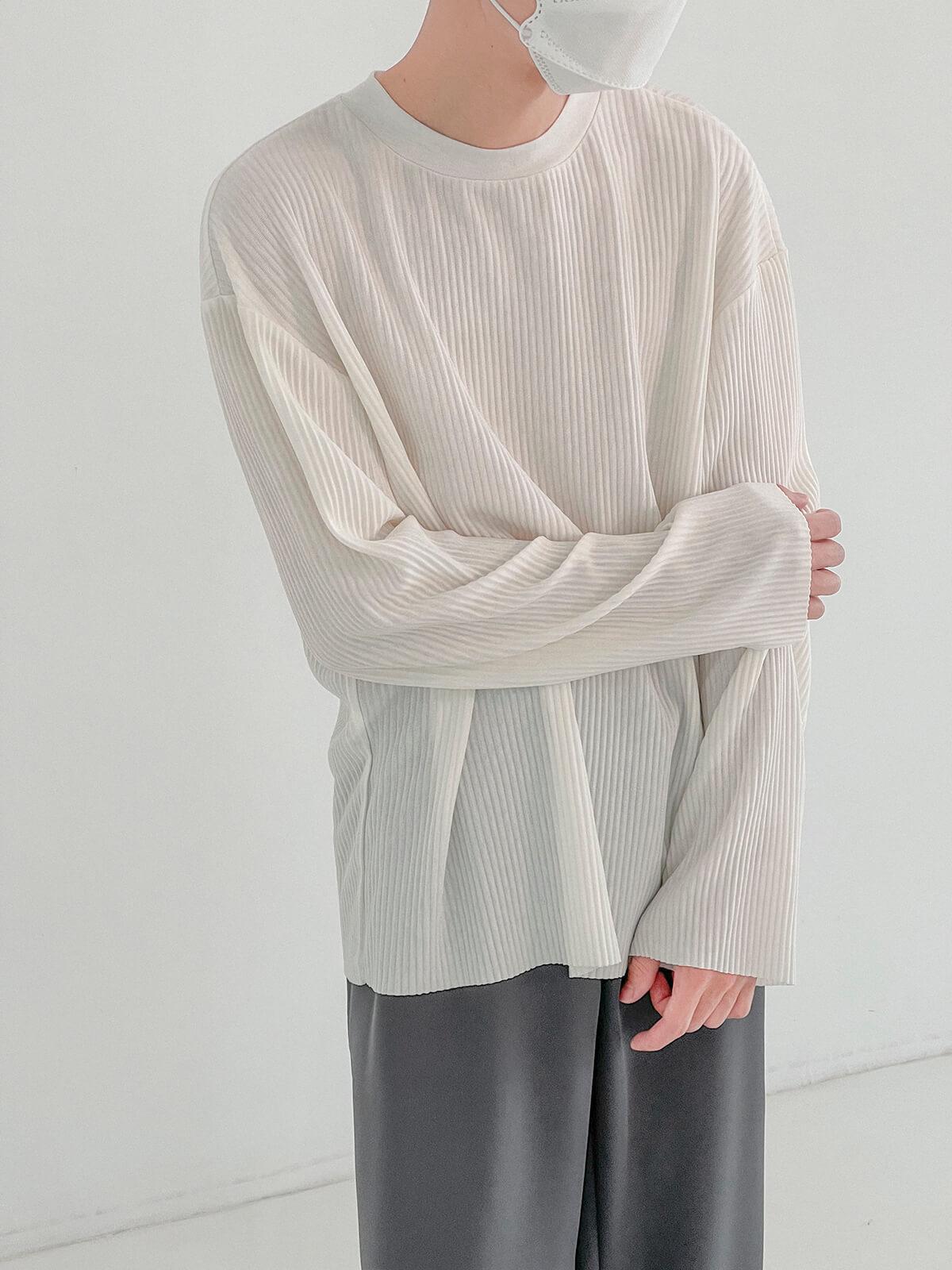 Лонгслив DAZO Studio Pleated Basic Long Sleeve (7)