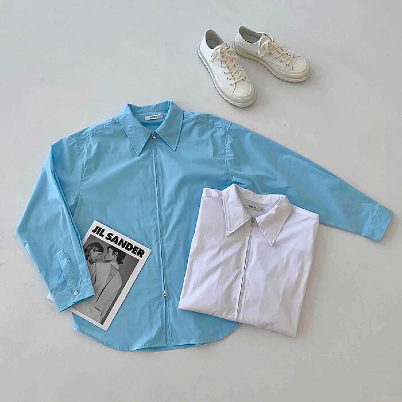Рубашка Attitude Studio Double Zipper Shirt (1)