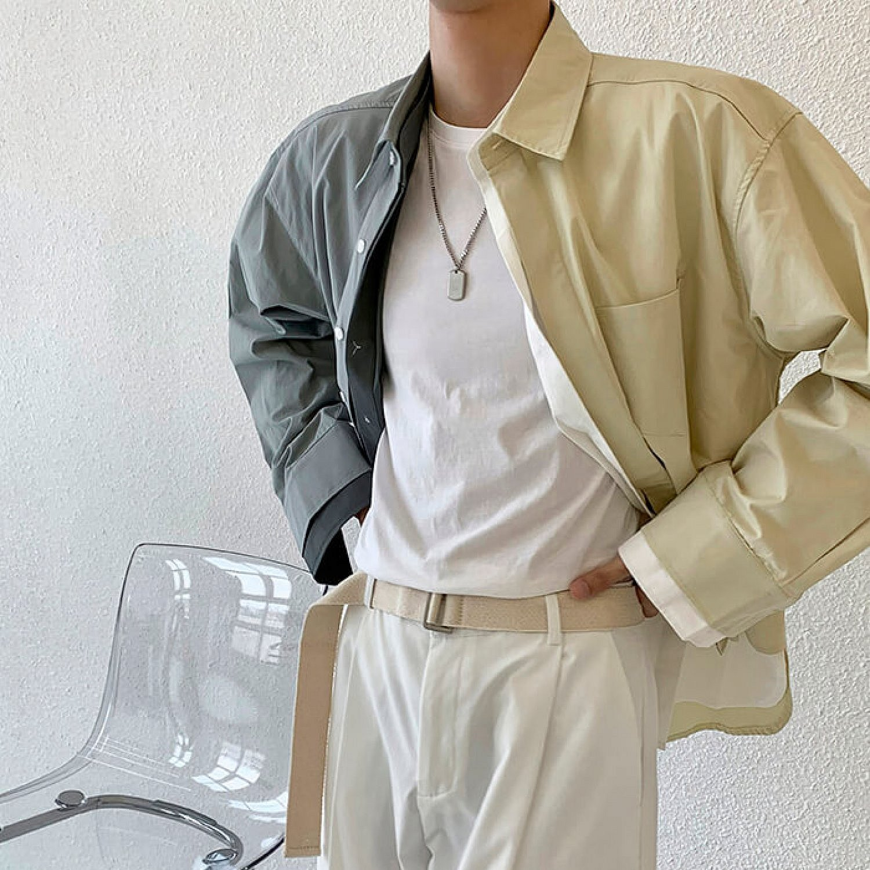 Рубашка Attitude Studio Pieces Combo Shirt (2)