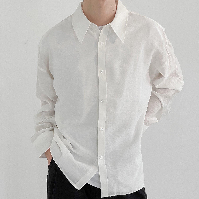 Рубашка DAZO Studio Cotton Solid Colored Shirt (1)