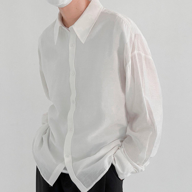 Рубашка DAZO Studio Cotton Solid Colored Shirt (2)