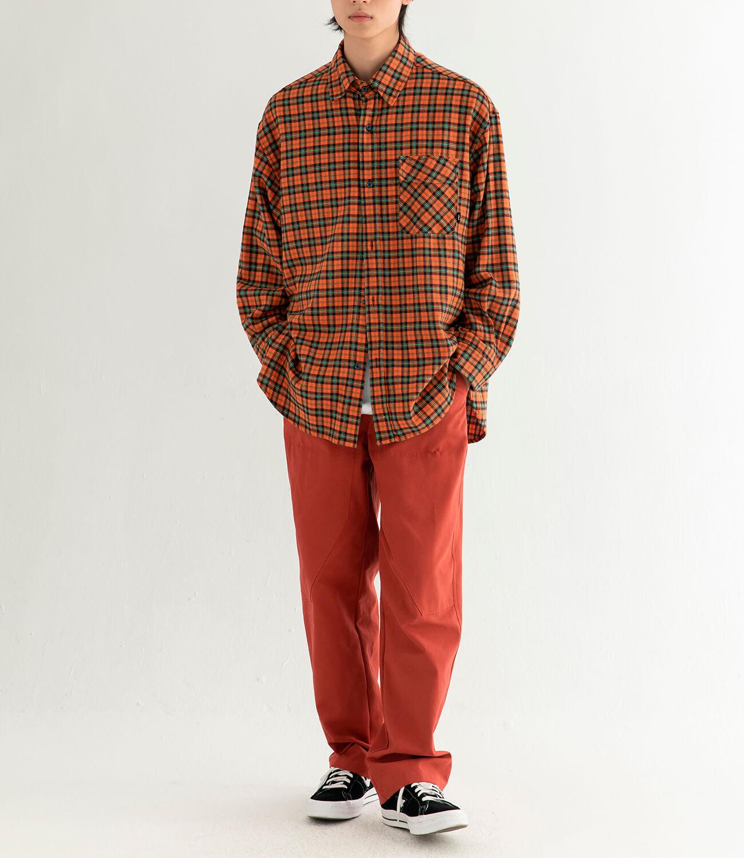 Рубашка DL Studio Loose Plaid Shirt (10)