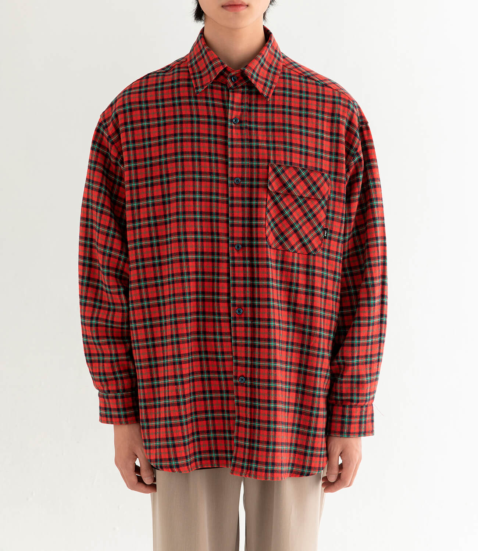Рубашка DL Studio Loose Plaid Shirt (14)