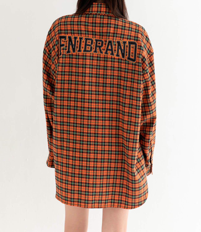 Рубашка DL Studio Loose Plaid Shirt (7)