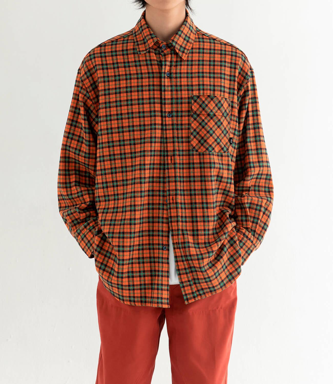 Рубашка DL Studio Loose Plaid Shirt (8)