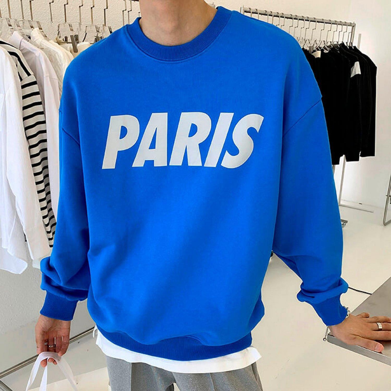 Свитшот Attitude Studio Sweatshirt Paris Reflective Print (2)