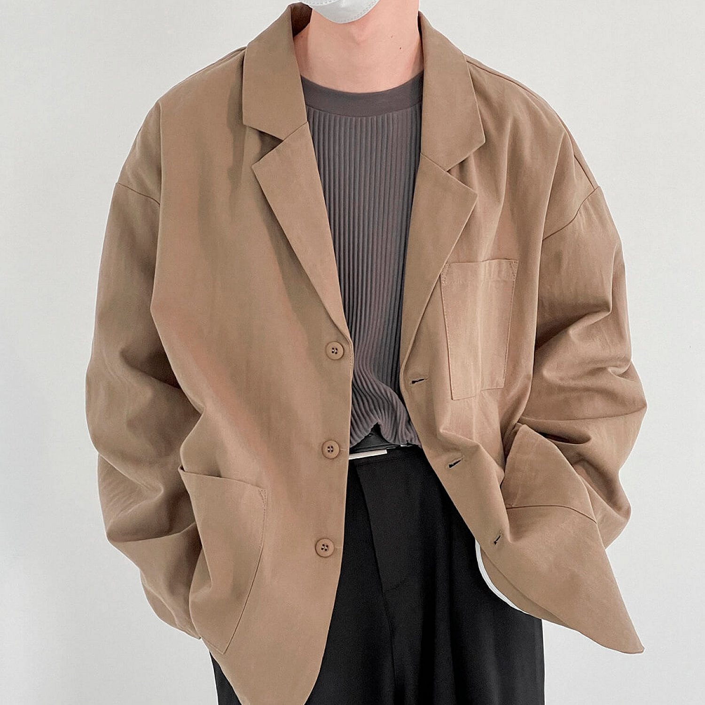 Блейзер DAZO Studio Big Pocket Autumn Blazer (1)