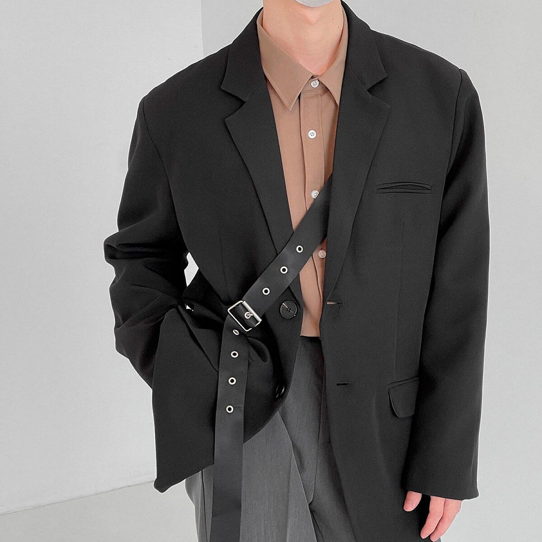 Блейзер DAZO Studio Blazer With Leather Belt (1)