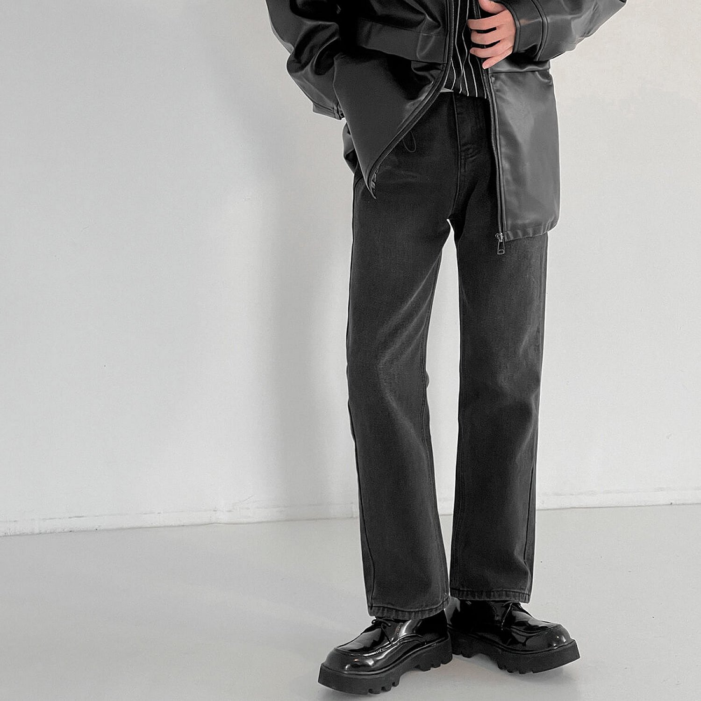 Джинсы DAZO Studio Black Jeans Bootcut Effect (2)