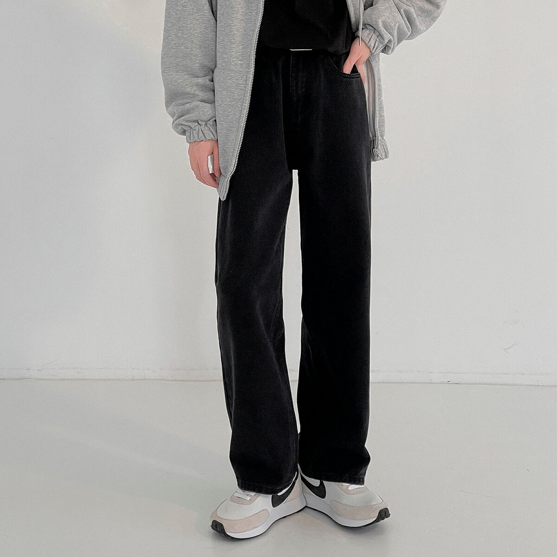 Джинсы DAZO Studio Casual Straight Solid Jeans (1)