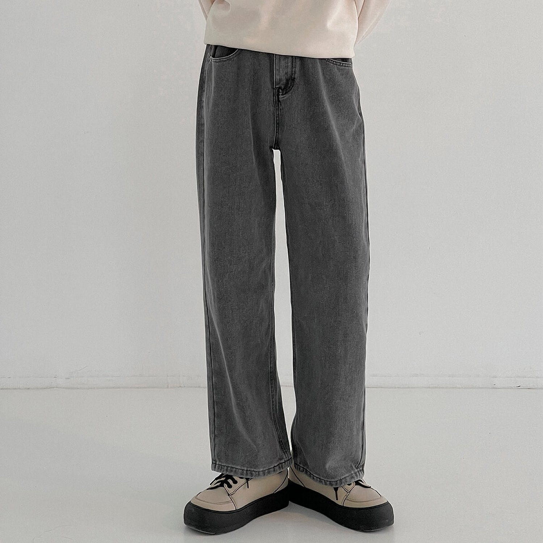 Джинсы DAZO Studio Gray Washed Straight Jeans (1)