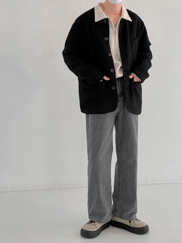 Джинсы DAZO Studio Gray Washed Straight Jeans (2)