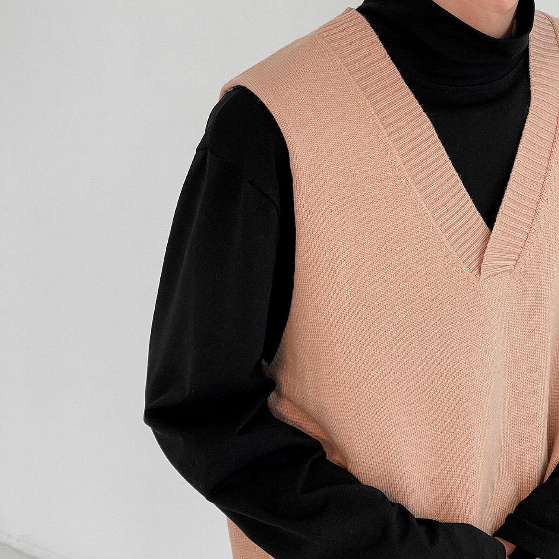 Жилет DAZO Studio Elastic Neck Knit Vest (2)