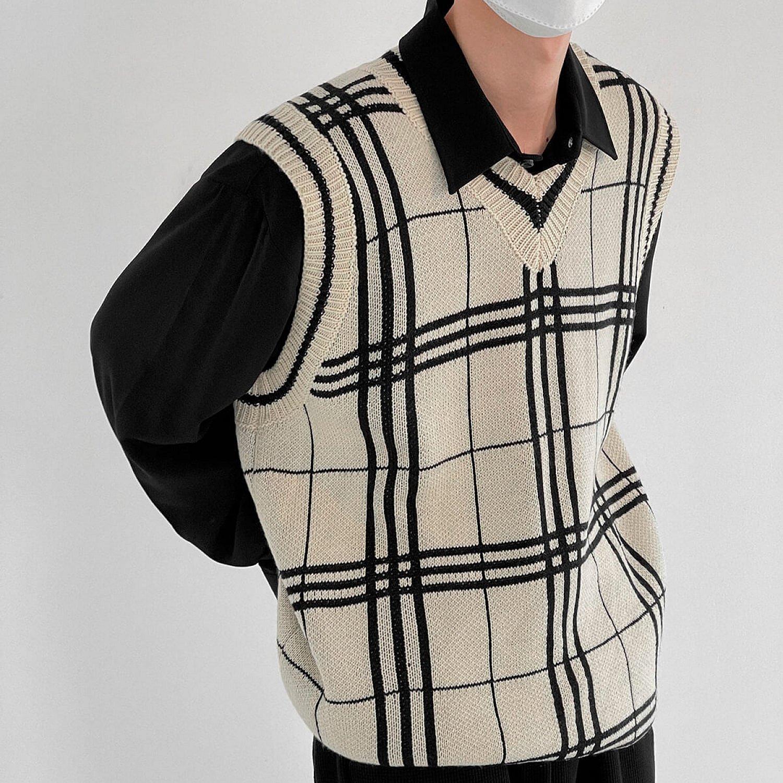 Жилет DAZO Studio Knitted Vest Linear Pattern (2)