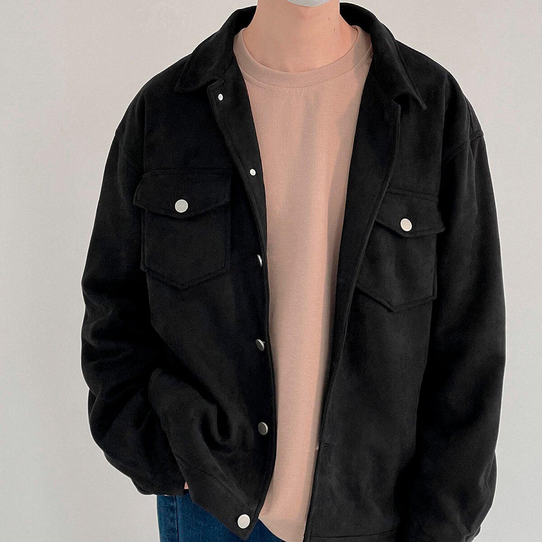 Куртка DAZO Studio Button Suede Jacket (1)