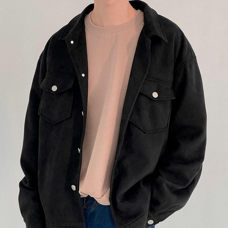 Куртка DAZO Studio Button Suede Jacket (2)