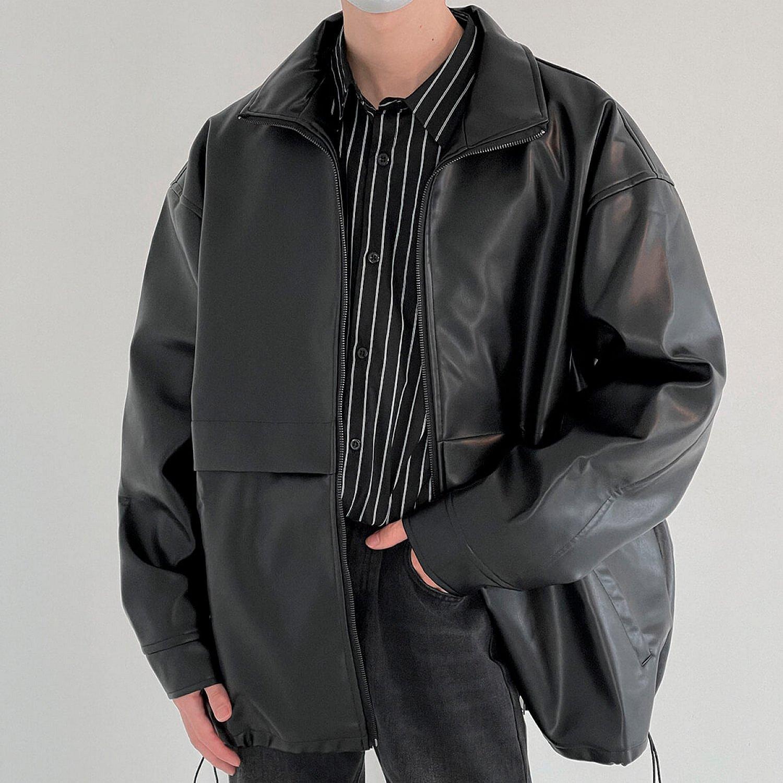 Куртка DAZO Studio Functional Faux Leather Jacket (1)