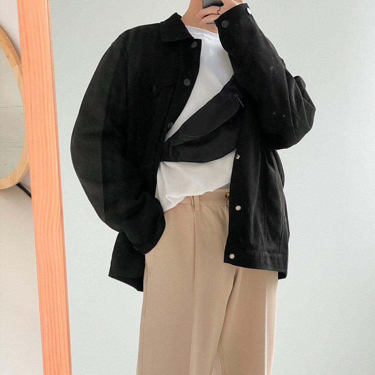 Куртка DAZO Studio Riveted Suede Jacket (1)