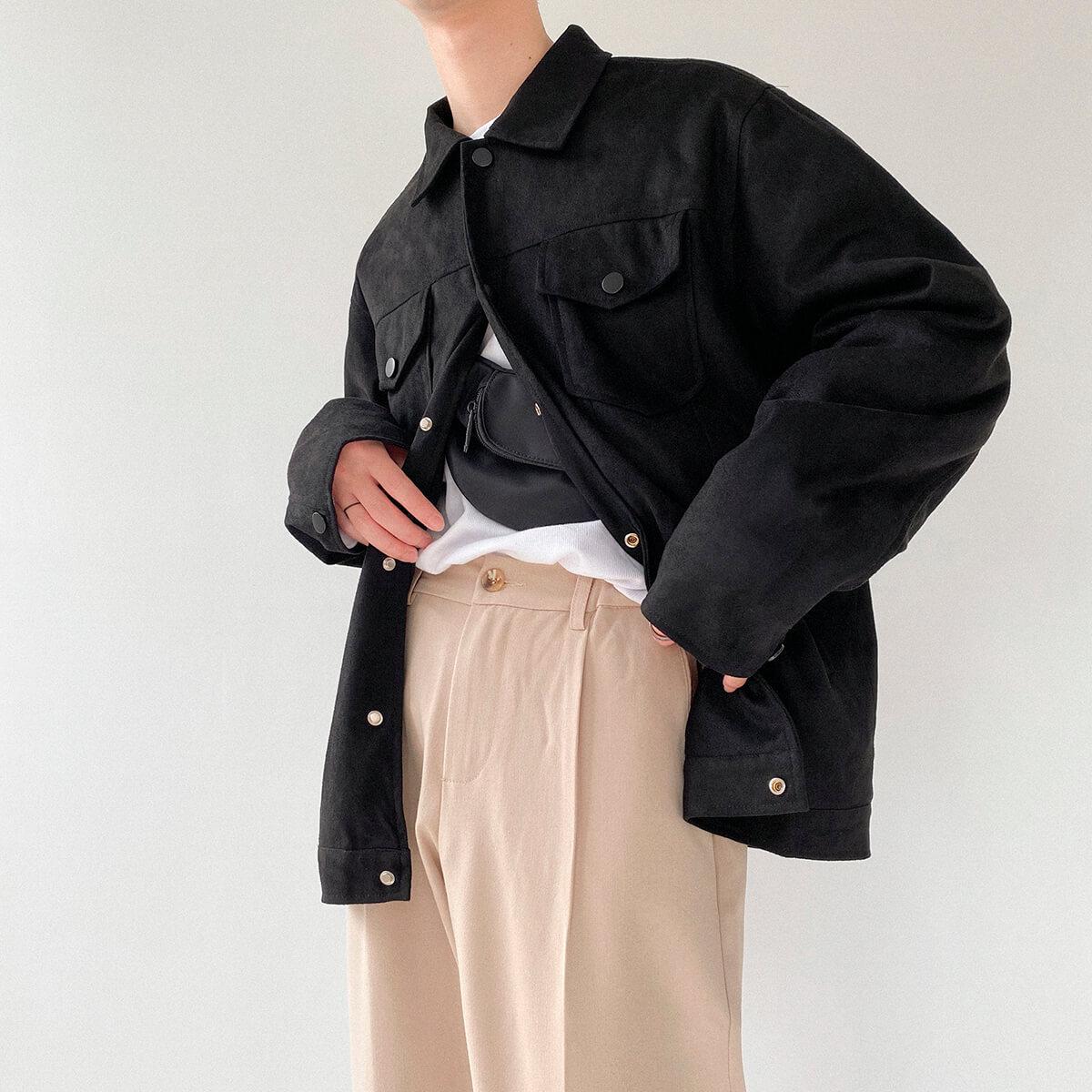 Куртка DAZO Studio Riveted Suede Jacket (2)