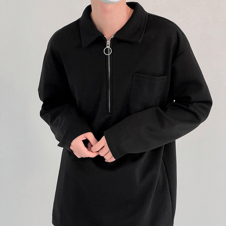 Лонгслив DAZO Studio Long Sleeve Zipper Polo (1)