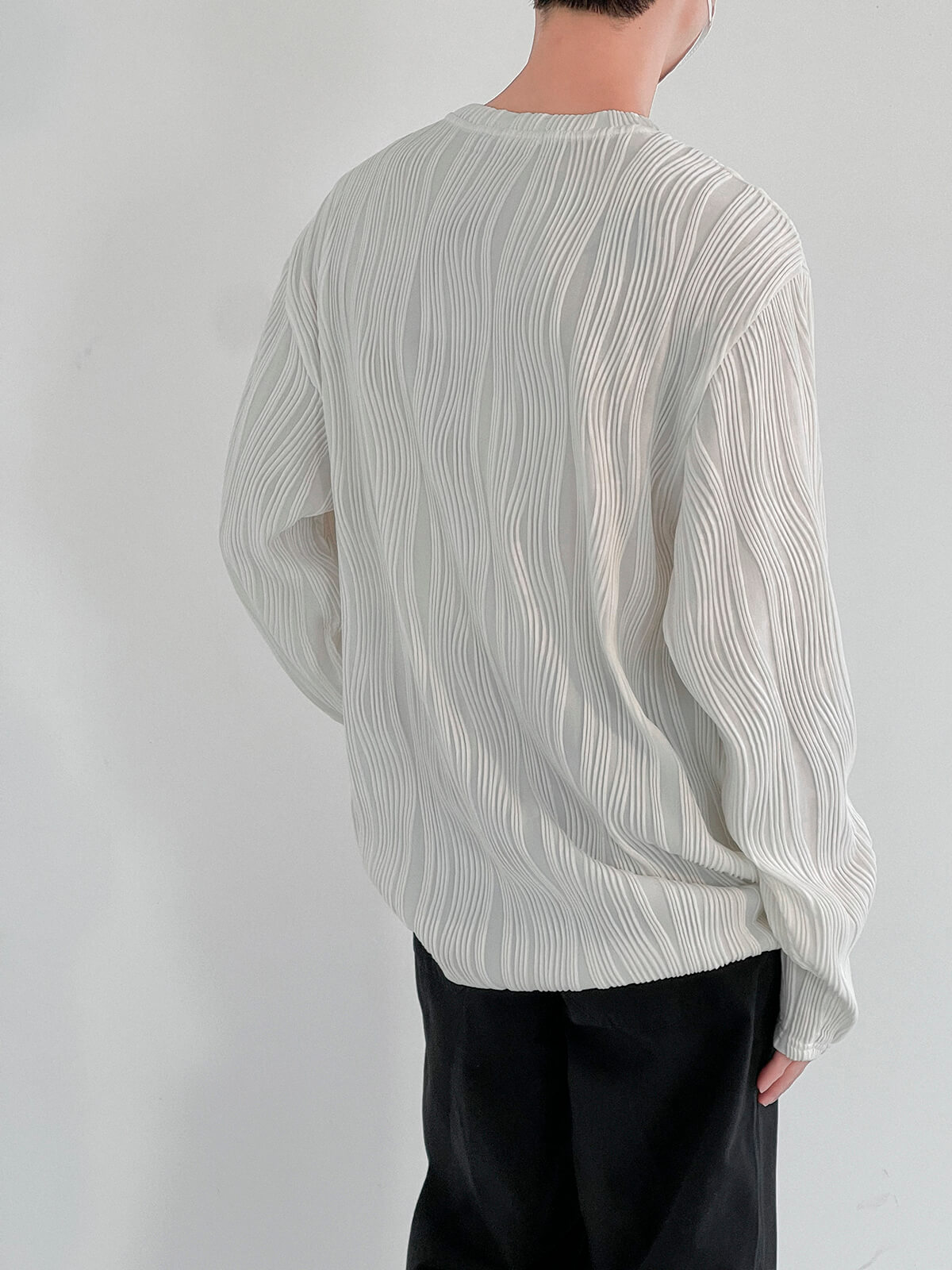 Лонгслив DAZO Studio Wave Ruffle Long Sleeve (9)
