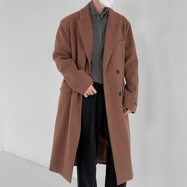 Пальто DAZO Studio Basic Medium Wool Coat (1)
