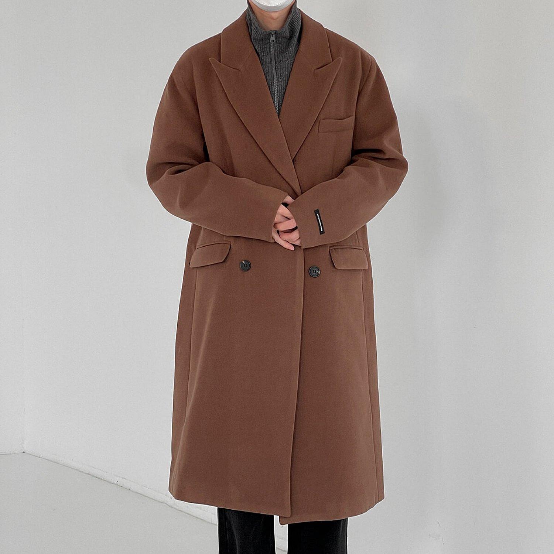 Пальто DAZO Studio Basic Medium Wool Coat (2)