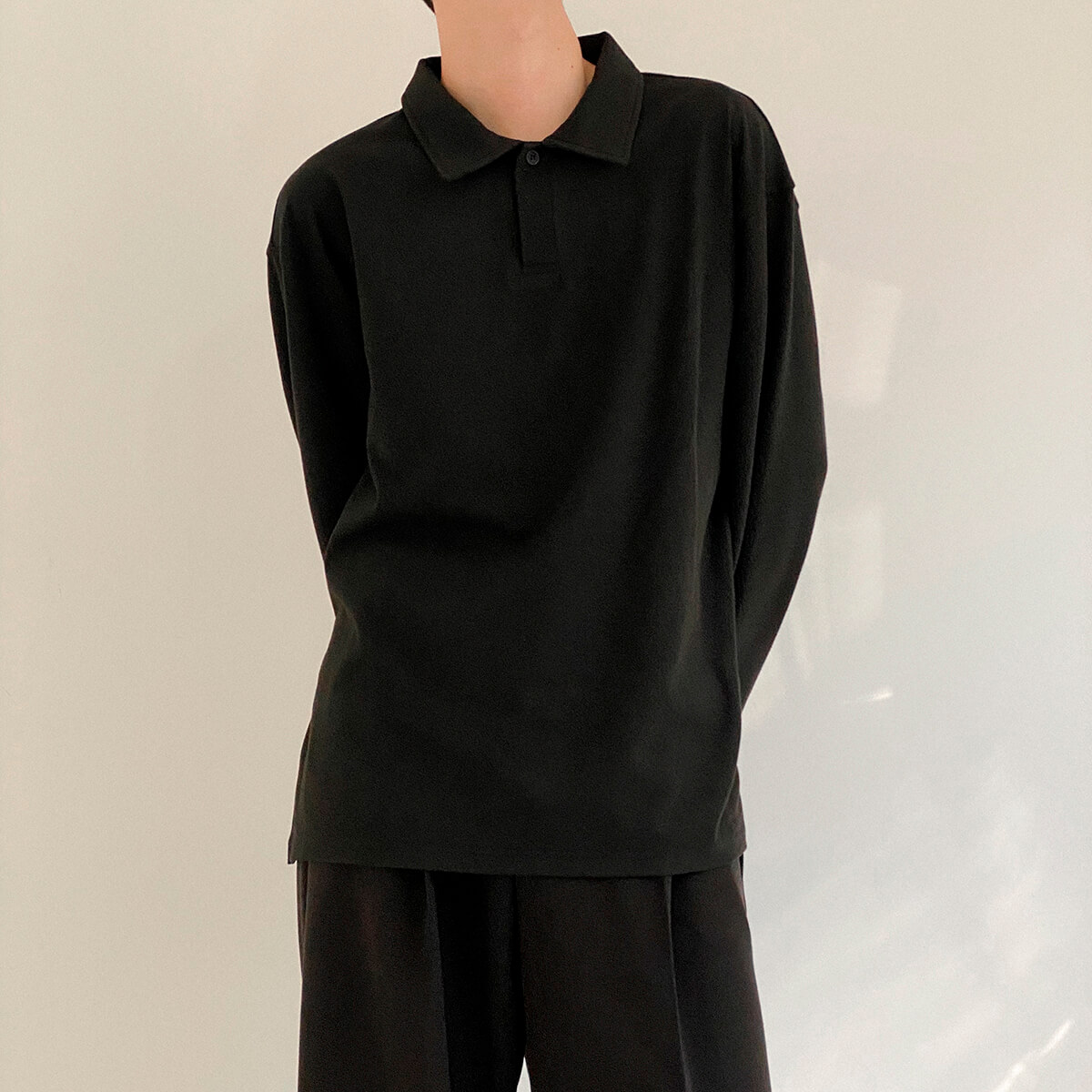 Поло DAZO Studio Basic Polo Long Sleeve (1)