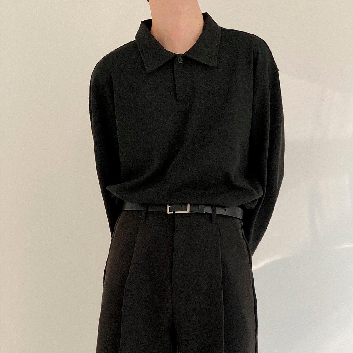 Поло DAZO Studio Basic Polo Long Sleeve (2)