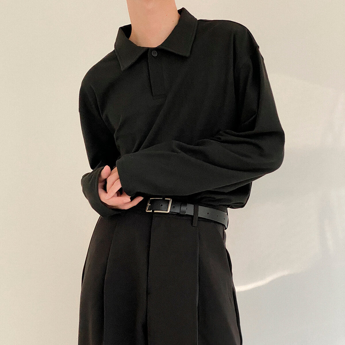 Поло DAZO Studio Basic Polo Long Sleeve (3)
