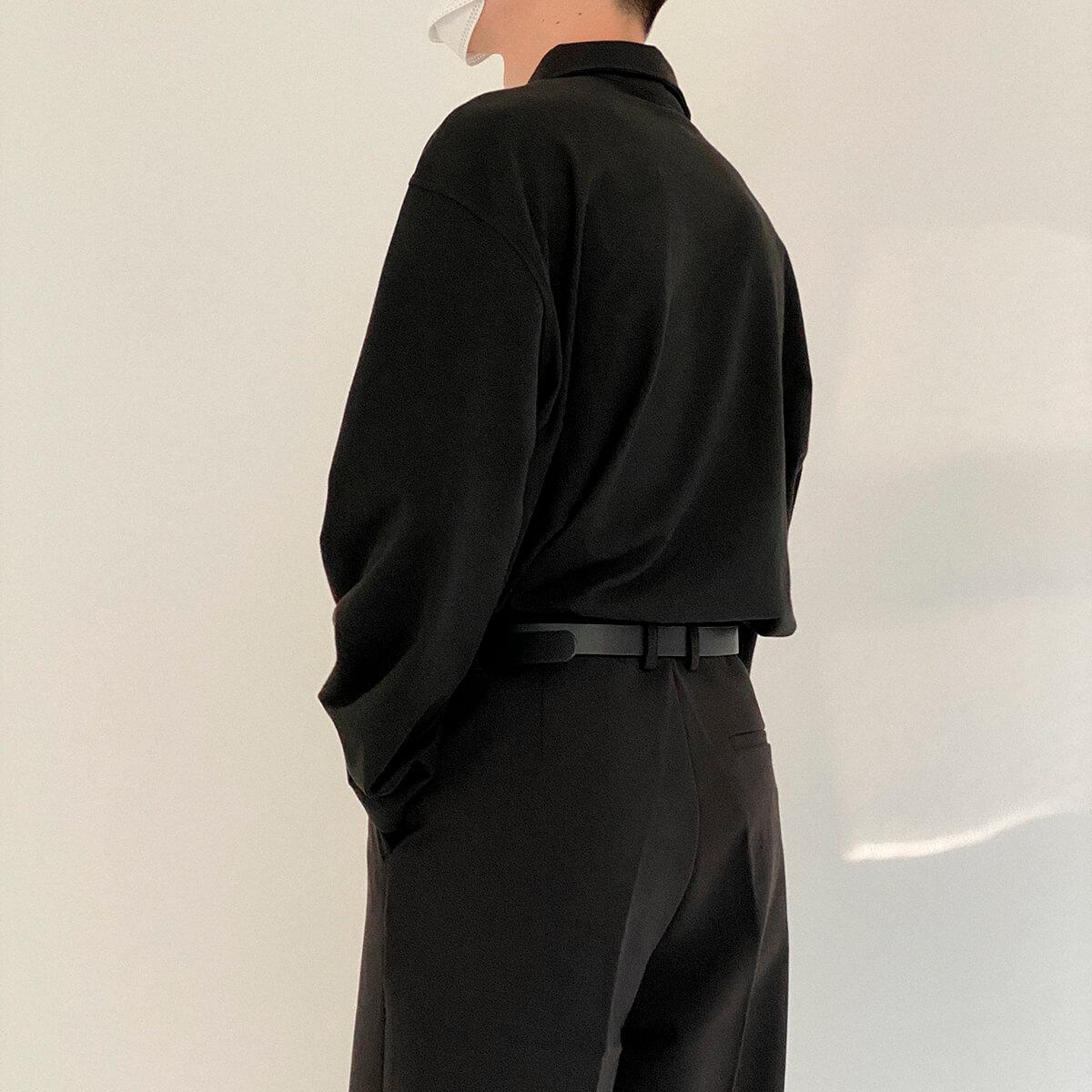 Поло DAZO Studio Basic Polo Long Sleeve (4)
