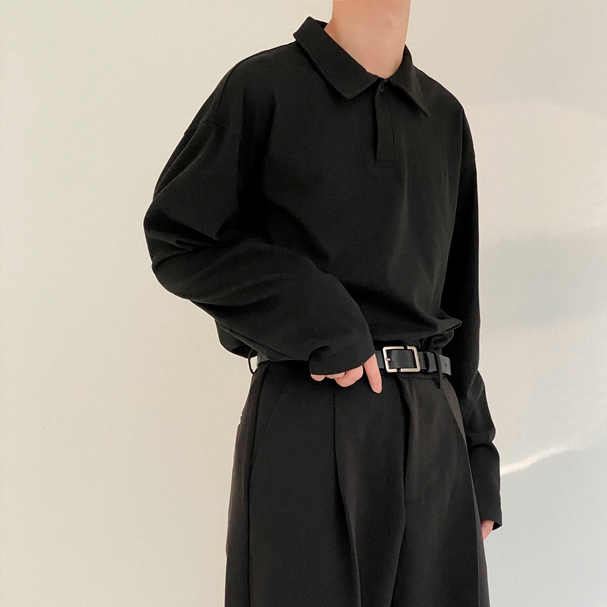 Поло DAZO Studio Basic Polo Long Sleeve (6)