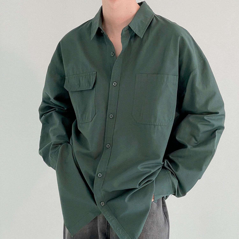 Рубашка DAZO Studio Asymmetrical Pocket Shirt (1)
