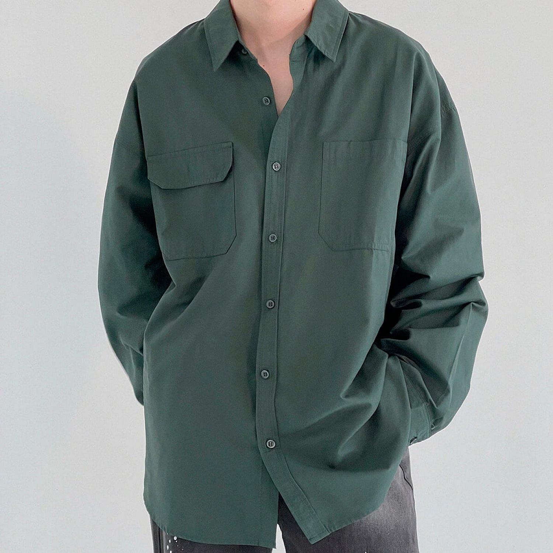 Рубашка DAZO Studio Asymmetrical Pocket Shirt (2)