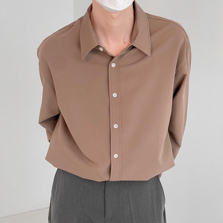 Рубашка DAZO Studio Basic Shirt Windy Weave (1)