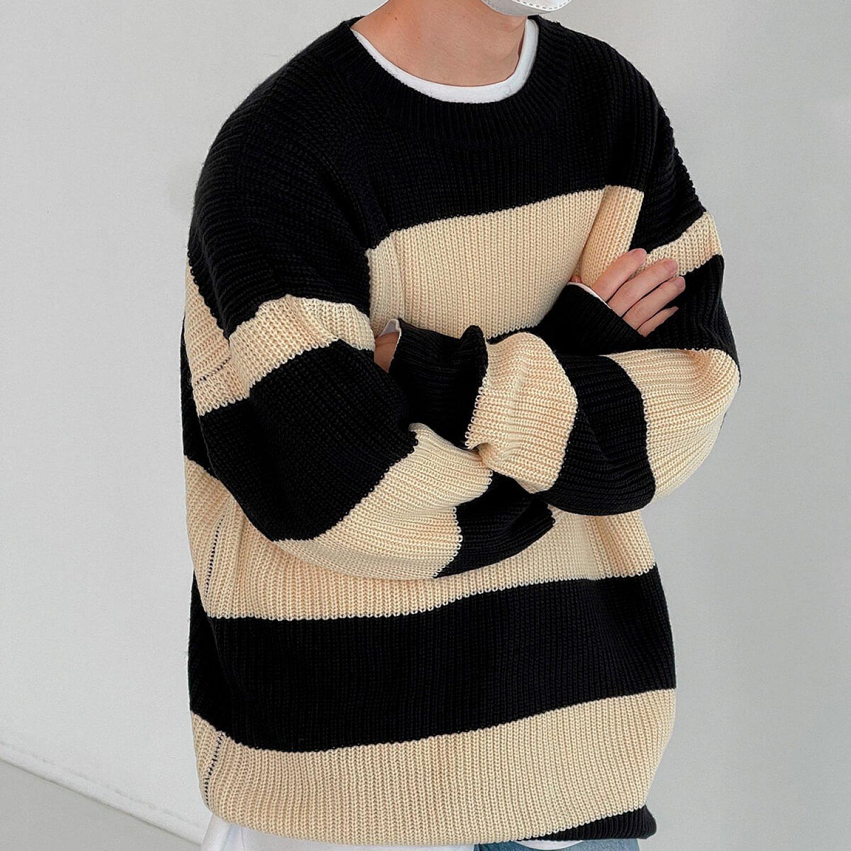 Свитер DAZO Studio Elastic Sweater Wide Stripe (1)