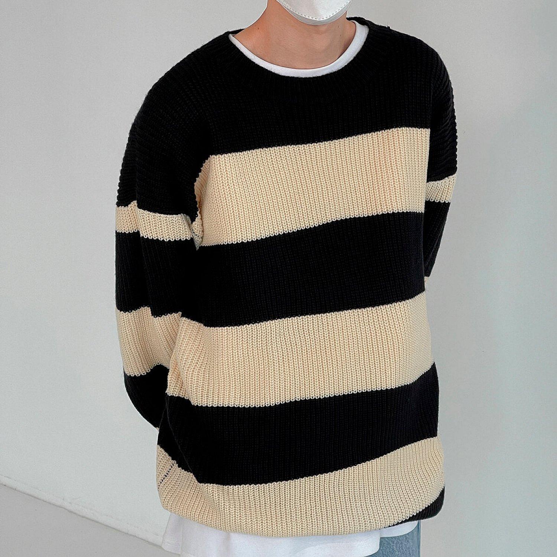 Свитер DAZO Studio Elastic Sweater Wide Stripe (2)