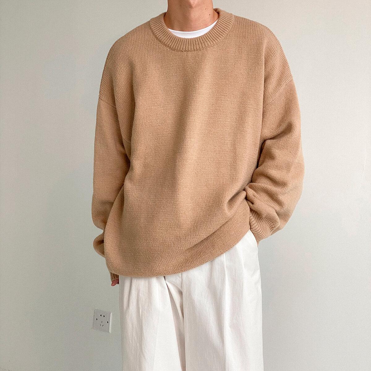 Свитер DAZO Studio Solid Colored Woolen Sweater Yarn (1)