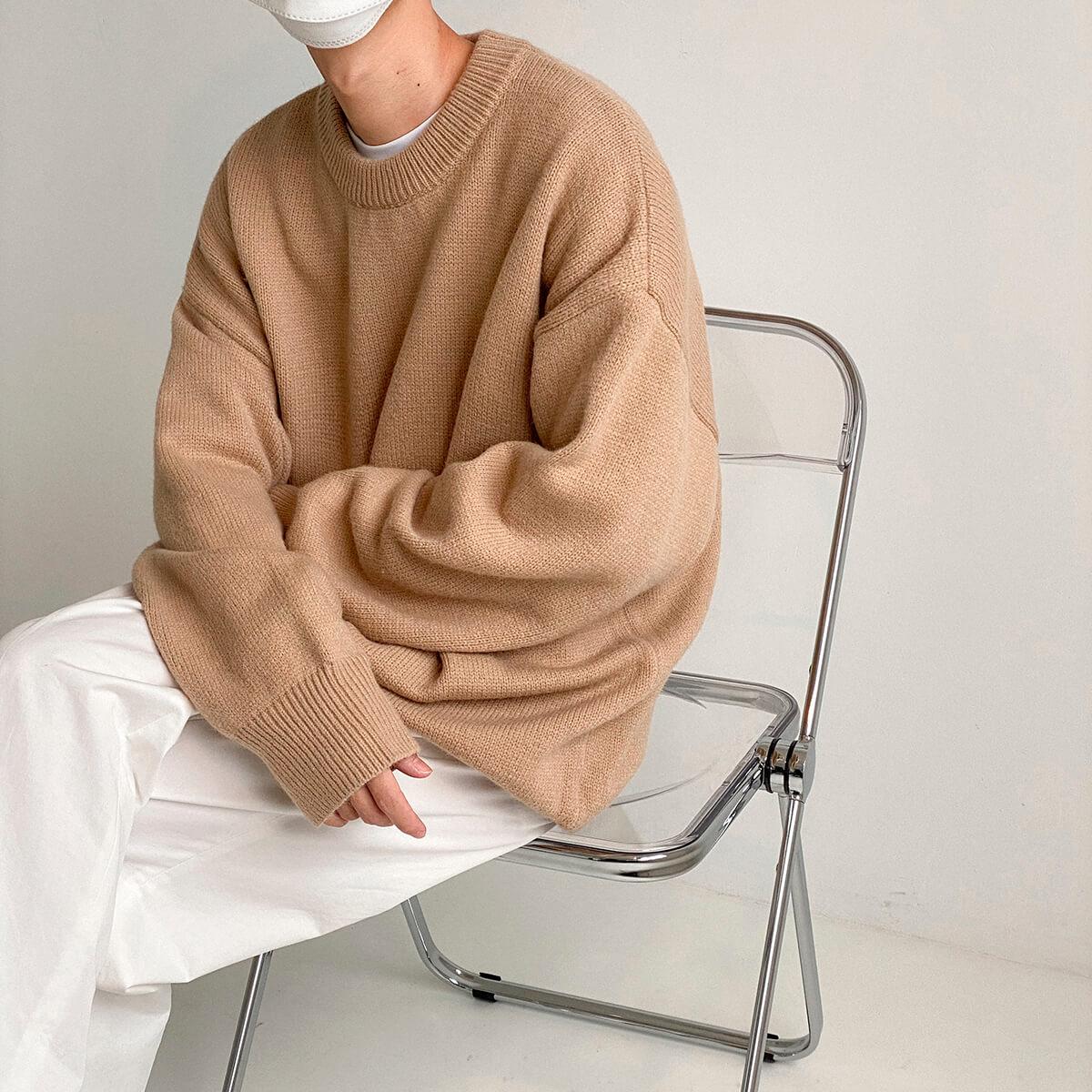 Свитер DAZO Studio Solid Colored Woolen Sweater Yarn (2)