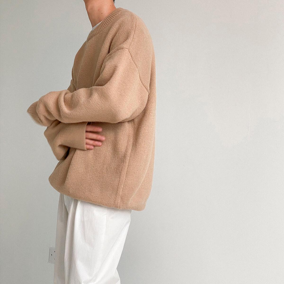 Свитер DAZO Studio Solid Colored Woolen Sweater Yarn (3)