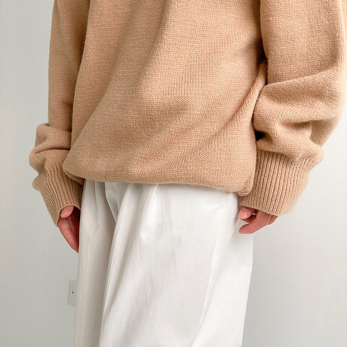 Свитер DAZO Studio Solid Colored Woolen Sweater Yarn (4)