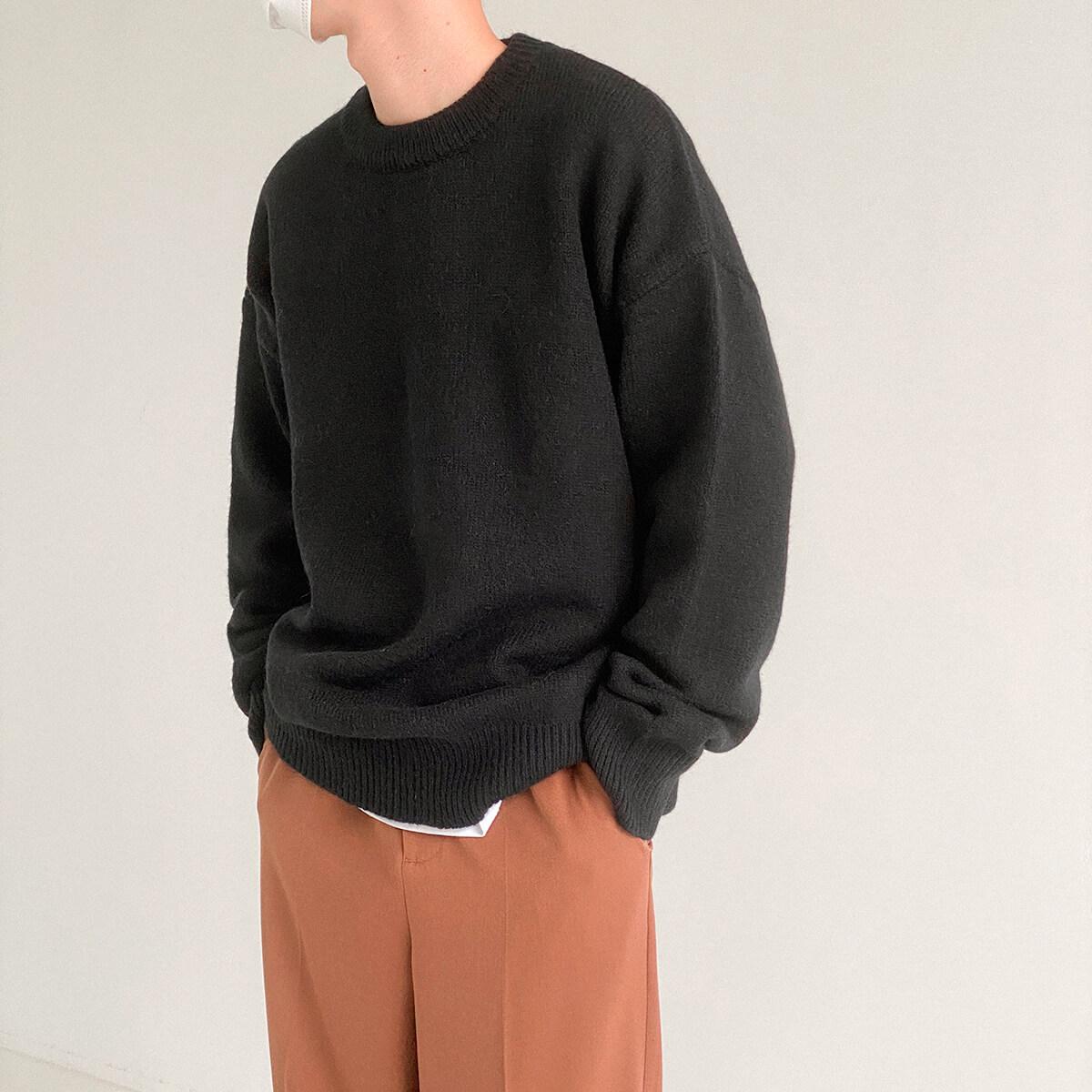 Свитер DAZO Studio Solid Colored Woolen Sweater Yarn (8)