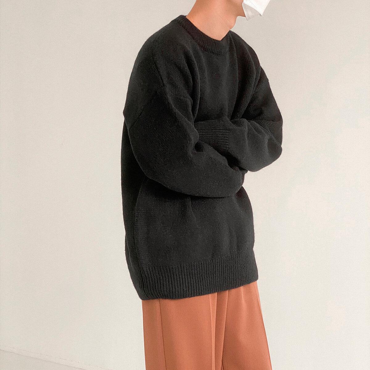 Свитер DAZO Studio Solid Colored Woolen Sweater Yarn (9)