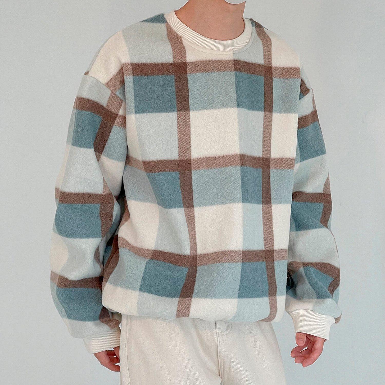 Свитер DAZO Studio Sweater Plaid Pattern (1)