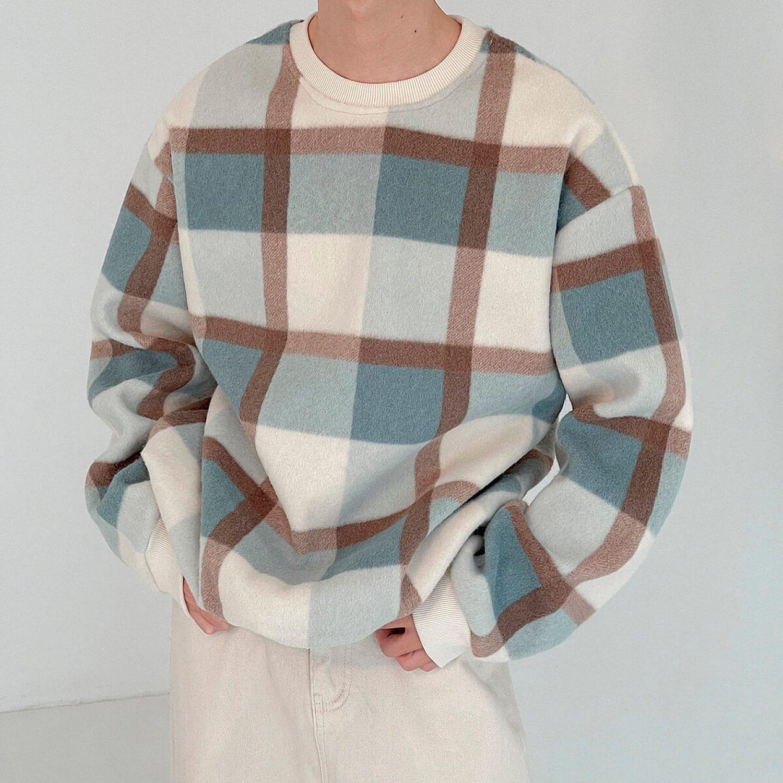 Свитер DAZO Studio Sweater Plaid Pattern (2)
